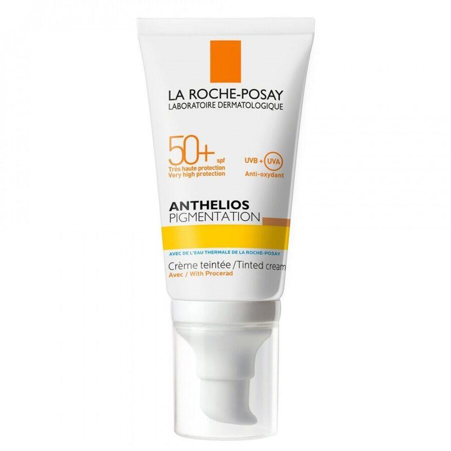 LA ROCHE-POSAY ANTHELIOS PIGMENTATION SPF 50+ tonēts saules aizsargkrēms, 50 ml