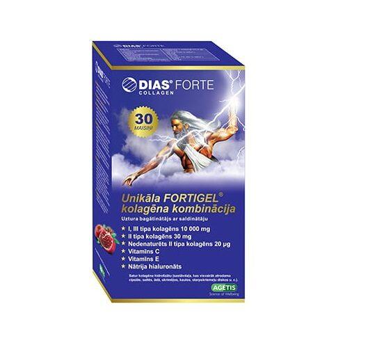 DIAS FORTE Collagen pulveris, 30 paciņas