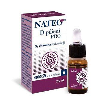 Nateo D pilieni PRO 4000SV, 7,5 ml