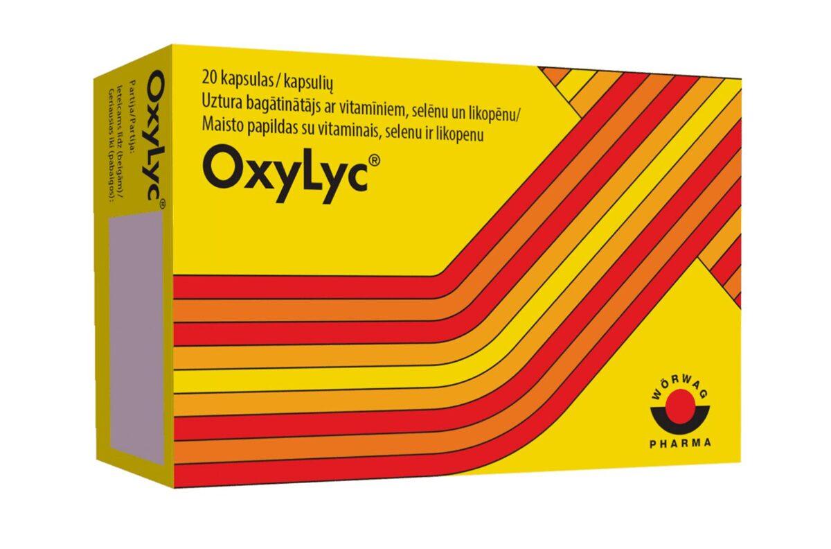 OxyLyc, 20 kapsulas