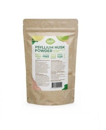 Ceļtekas sēnalu pulveris (psilliums, psyllium), 250 g