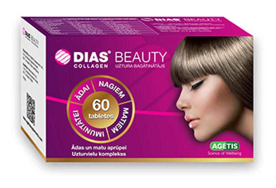 DIAS BEAUTY Collagen, 60 tabletes
