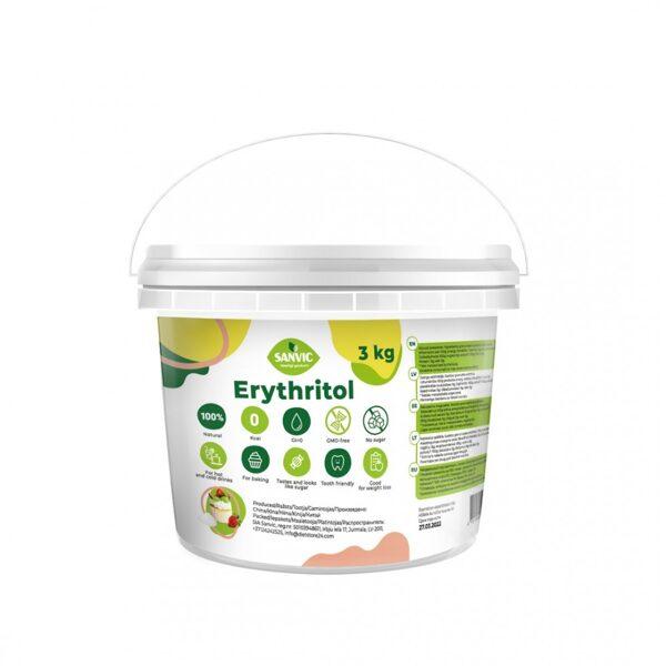 Eritritols dabīgs saldinātājs, 3 kg