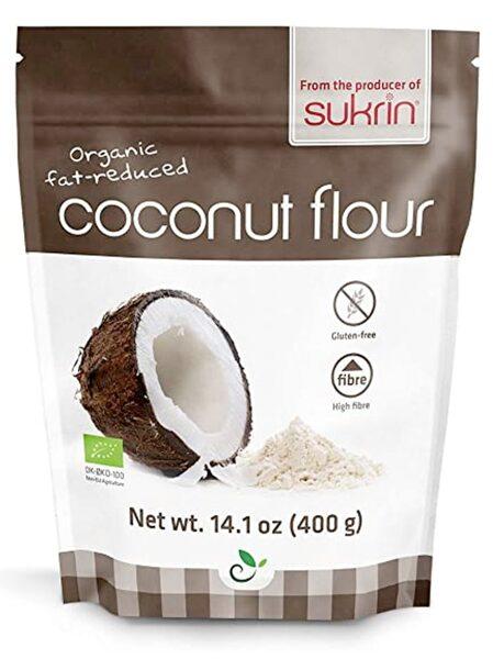 Kokosriekstu milti EСO (daļēji attaukoti), 400 g