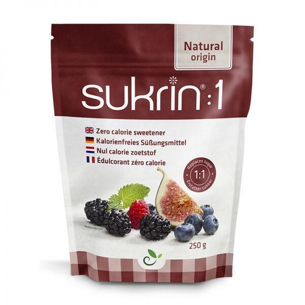 Sukrin:1, dabīgs saldinātājs, 250 g
