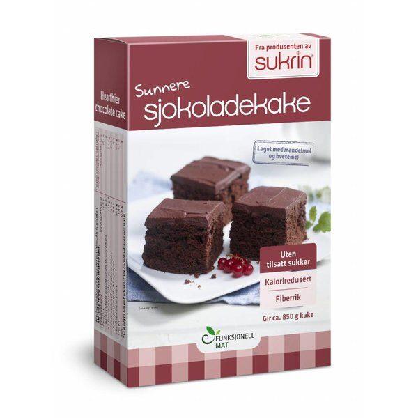 Sukrin šokolādes kūkas maisījums, 410 g